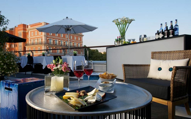 The most rooftop bars Madrid
