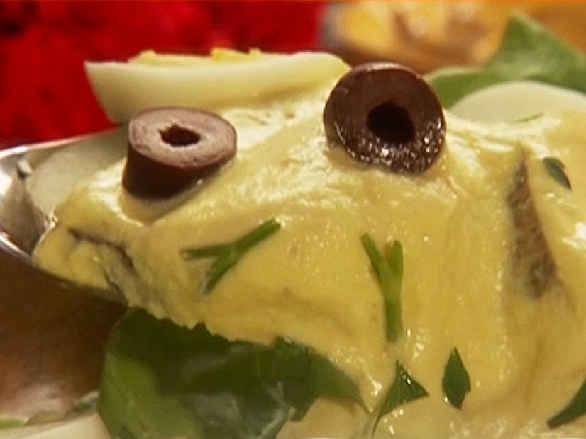 Huancaina style potato