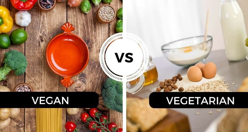 vegan and vegetarian