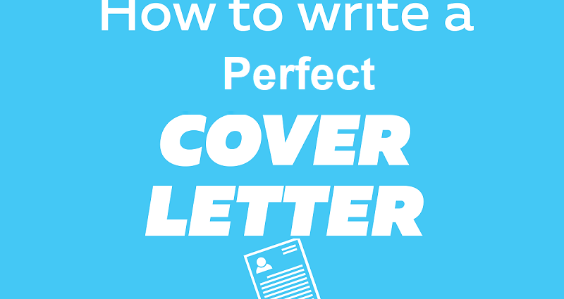 How to write a perfect cover letter | Spreads Hub