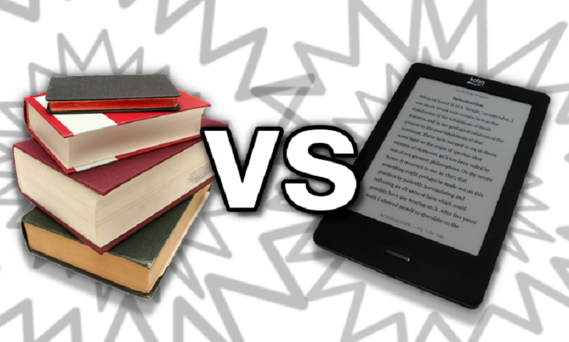 Books vs ebooks: Discover who will win the match