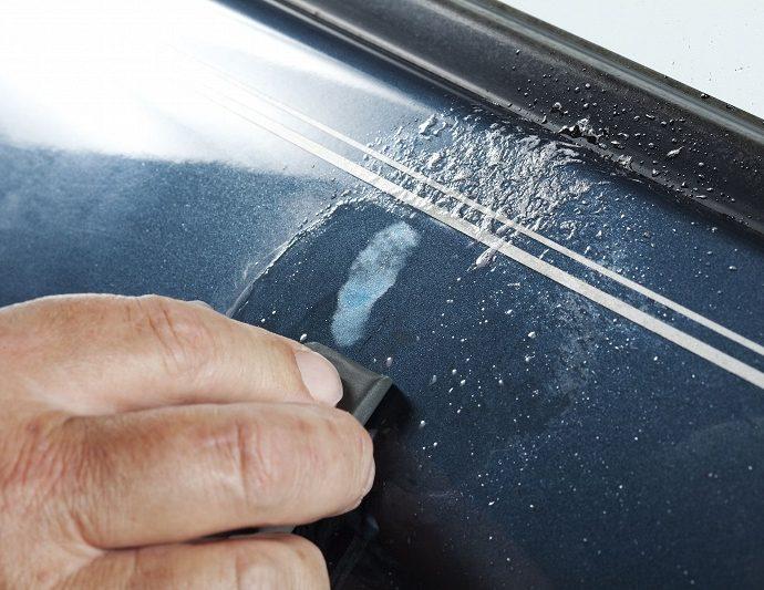 How to fix deep scratches on car door