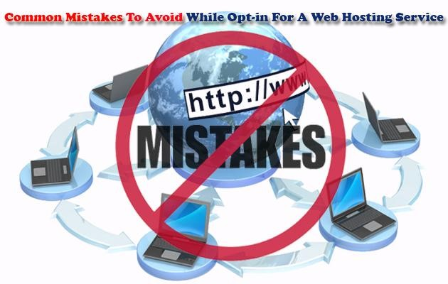 Five Web-Hosting Mistakes and How to Avoid Them