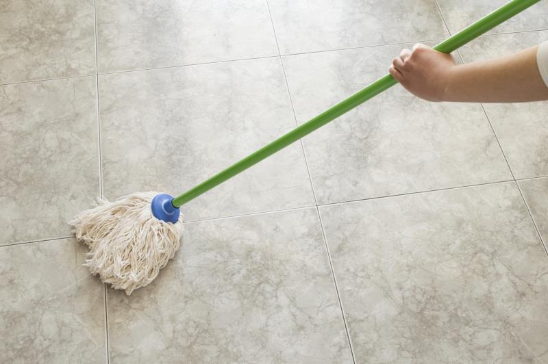 ammonia for terrazzo floors