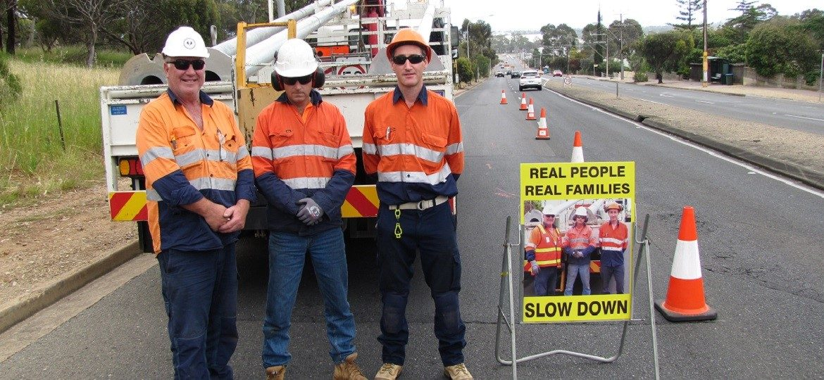 Keeping road workers safe