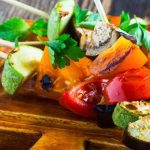vegetable skewers