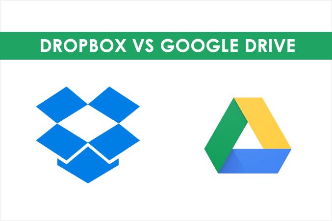 Drive vs Dropbox