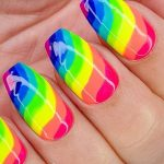 Rainbow nails – the trend for summer 2021