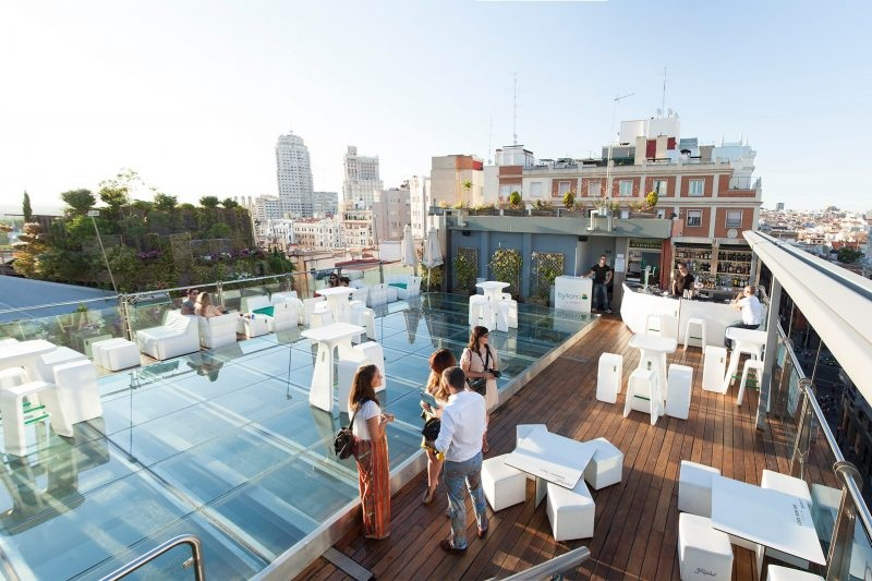 discover rooftop bars Madrid