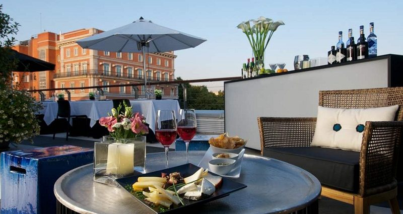 most rooftop bars Madrid