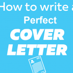 How to write a perfect cover letter