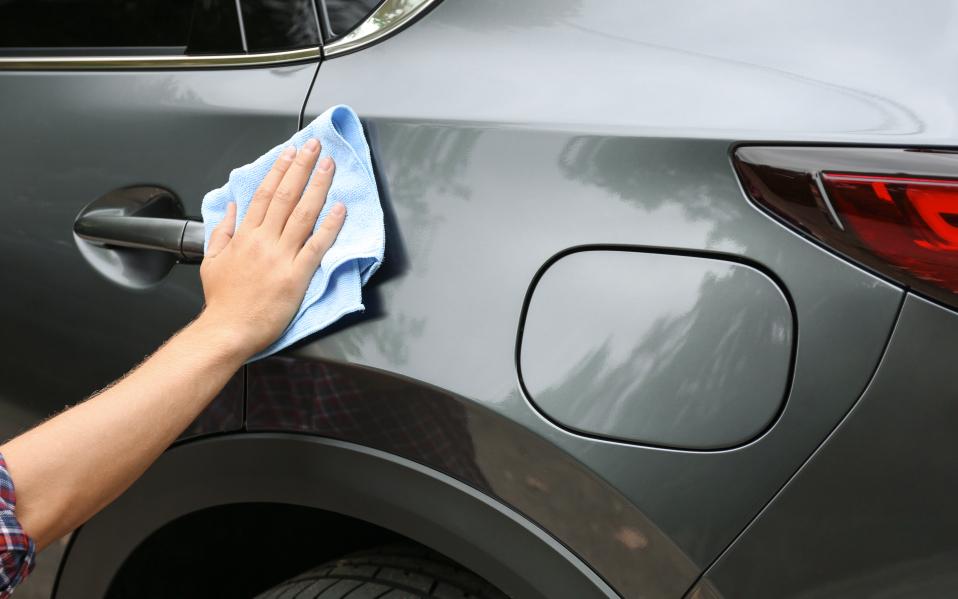 scratches on car door