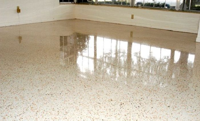 How to clean terrazzo floors