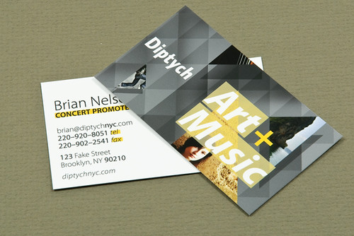 Diptych Business Cards