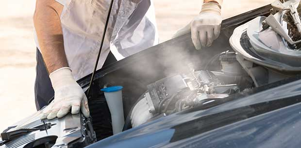 what to do if your car overheats in traffic