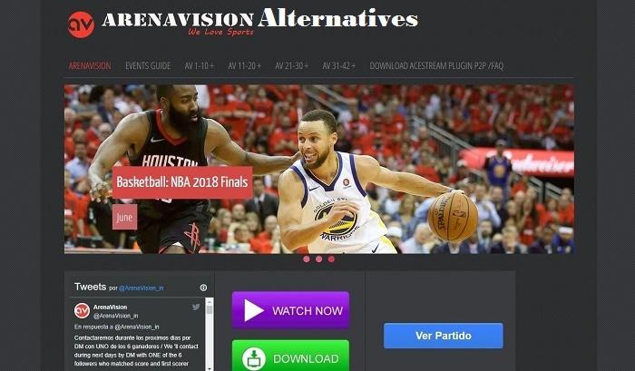 alternatives to Arenavision