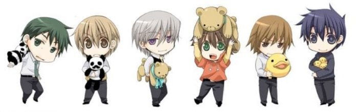 Junjou Romantica Season 4 characters
