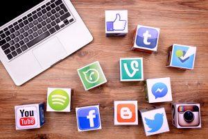 company's social networks