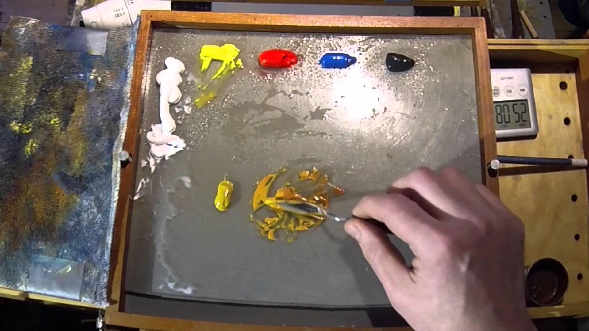 how to make ocher color