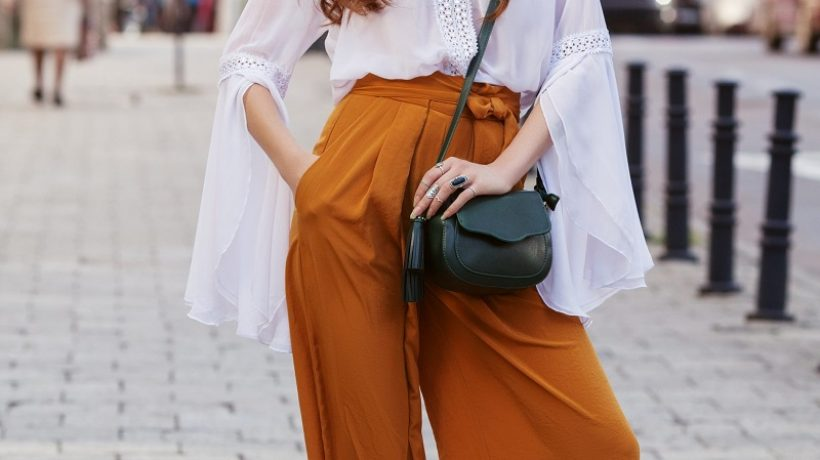 Palazzo pants: how to wear and match them?