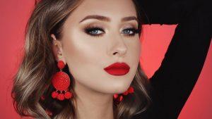 Valentine's day makeup